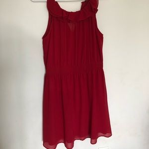 *ONLY WORN ONCE* Red Flowy Dress